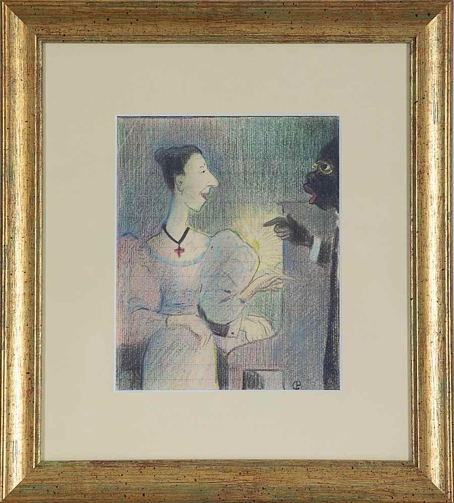 Les Chanteurs - Félix Pissarro (1874 - 1897)