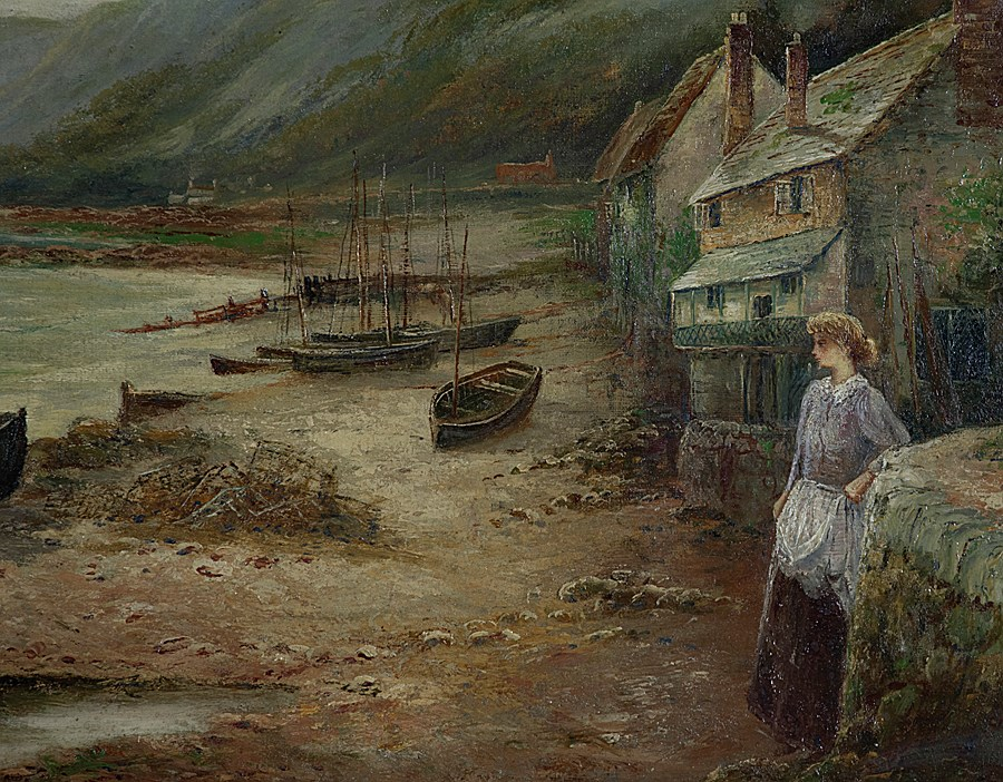 Waiting for the Boats - Ernest Walbourn (1872 - 1927)