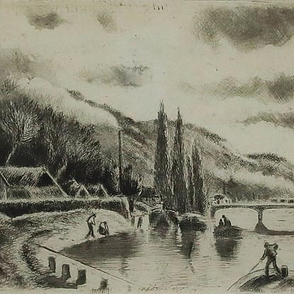 Côte Sainte-Catherine, à Rouen - Camille Pissarro (1830 - 1903)