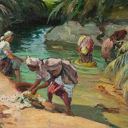 Femmes Maroccaines - Marcel Dyf (1899 - 1985)