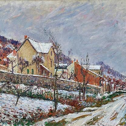 La Neige en 1911 - Gustave Loiseau (1865 - 1935)