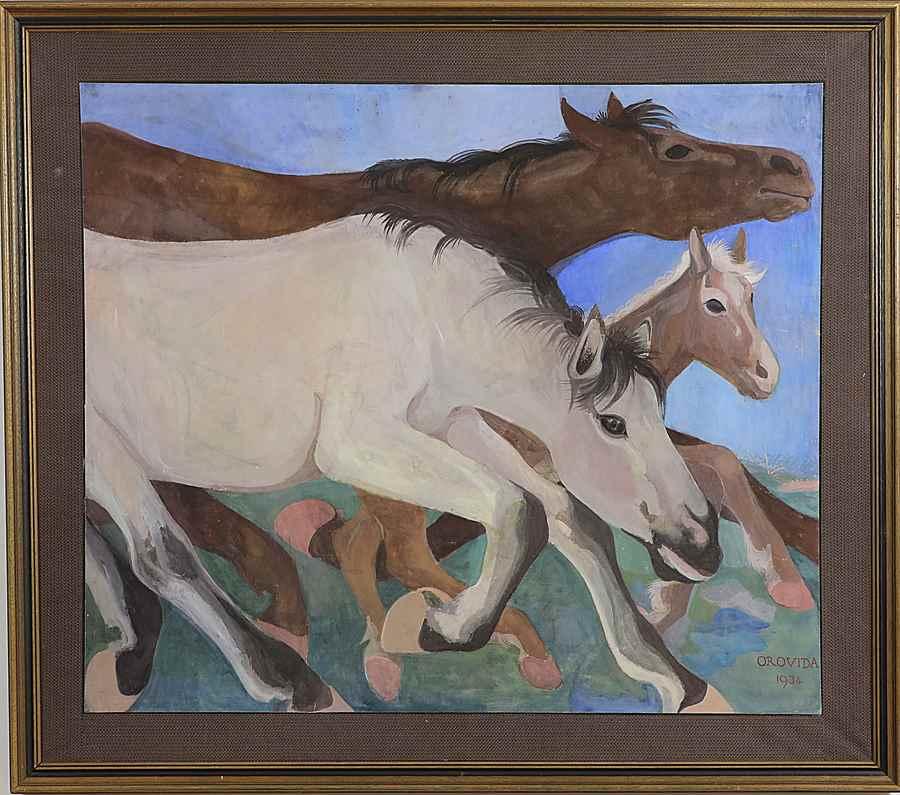 Migration - Orovida Camille Pissarro (1893 - 1968)