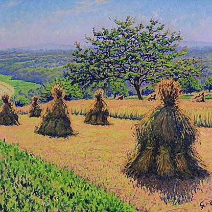 Meules de foin - Gustave Cariot (1872 - 1950)