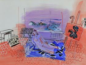 Raoul Dufy - L'Atelier à Vence
