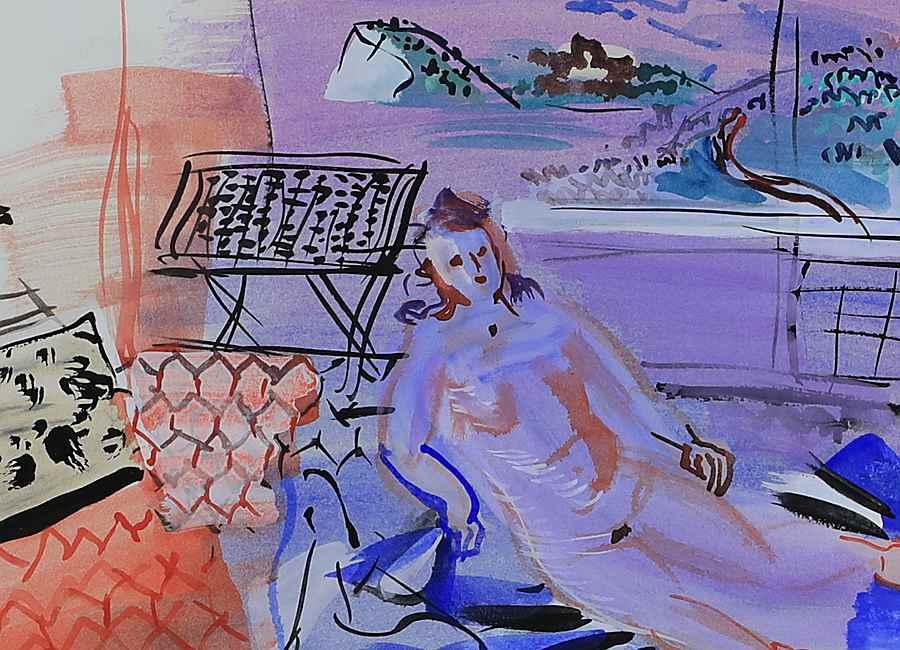 L'Atelier à Vence - Raoul Dufy (1877 - 1953)