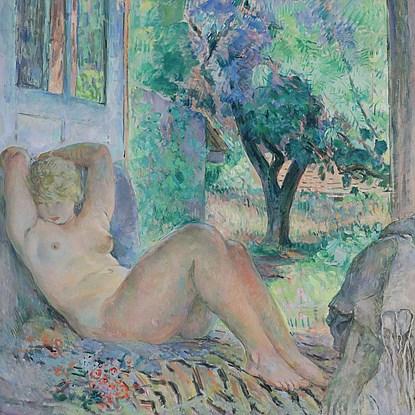 Grand Nu (Marinette), Le Cannet - Henri Lebasque (1865 - 1937)