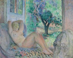 Henri Lebasque - Grand Nu (Marinette), Le Cannet