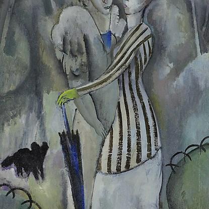 Promenade au Parc - Jean Lurçat (1892 - 1966)
