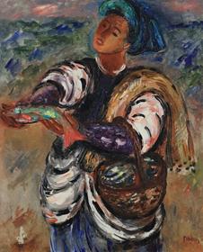 Reuven Rubin - Fisherman