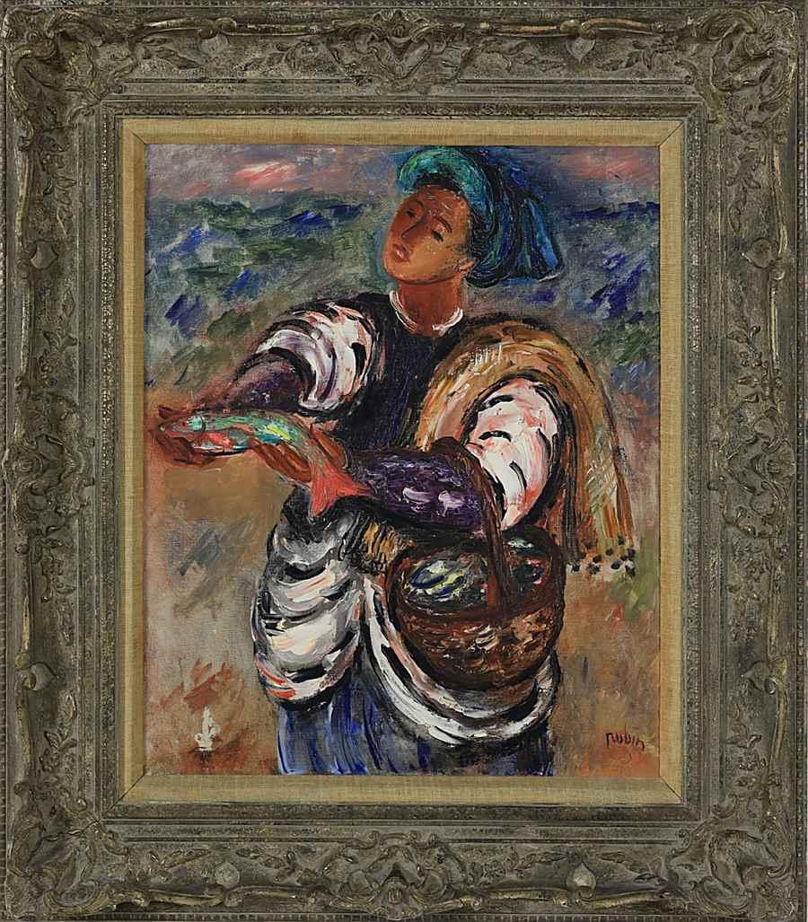 Fisherman - Reuven Rubin (1893 - 1974)