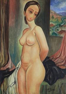 Moshe Castel - Nude