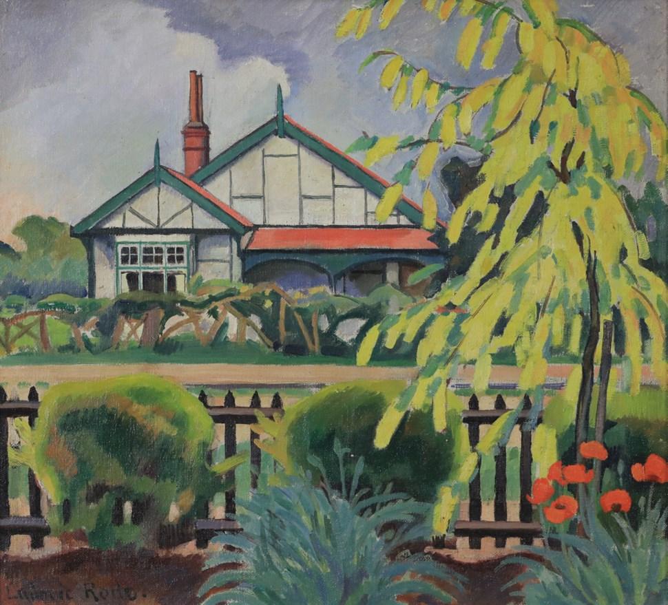 Yellow Tree - Ludovic-Rodo Pissarro (1878 - 1952)