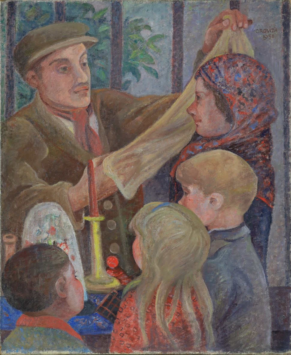 Nylons and Bric-a-Brac - Orovida Pissarro (1893 - 1968)