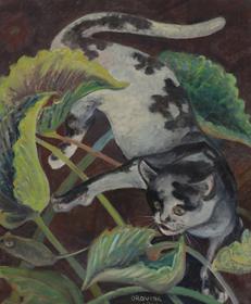 Orovida Pissarro - Cat and Mouse