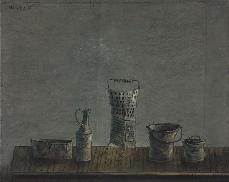 Vessels - Yosl Bergner (1920 - 2017)