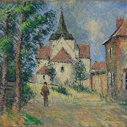 Le Village Animé - Gustave Loiseau (1865 - 1935)