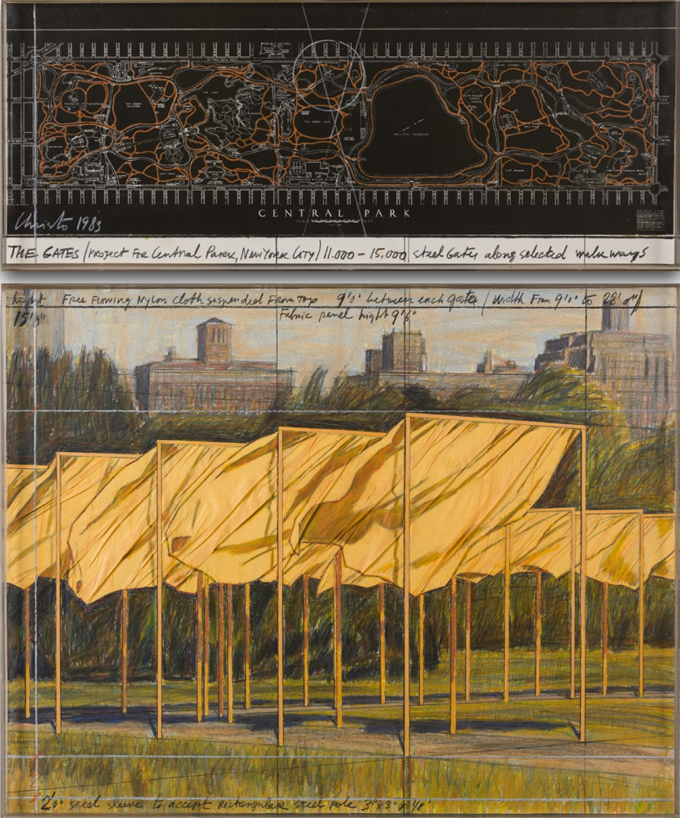 The Gates (Project for Central Park, New York City) - Christo (1935 - 2020)