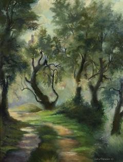 Félix  Pissarro II - Pathway Near Menton