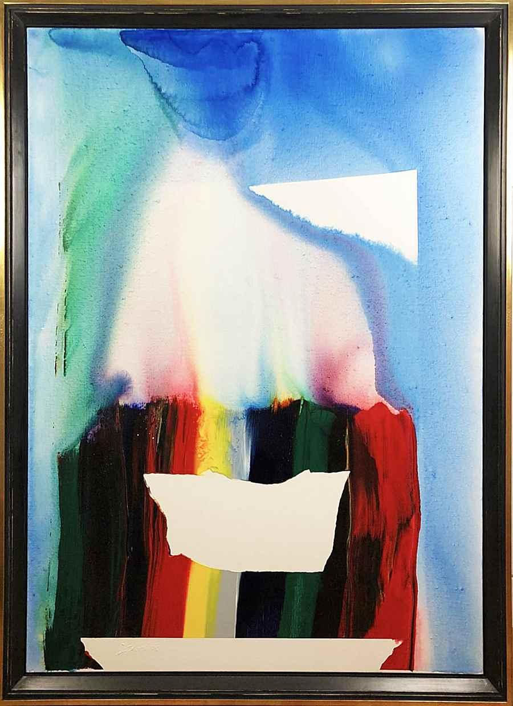 Phenomena Prism Mirror - Paul Jenkins (1923 - 2012)
