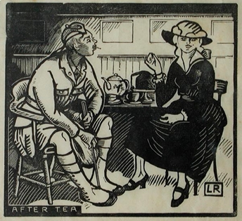 Ludovic-Rodo Pissarro - After Tea