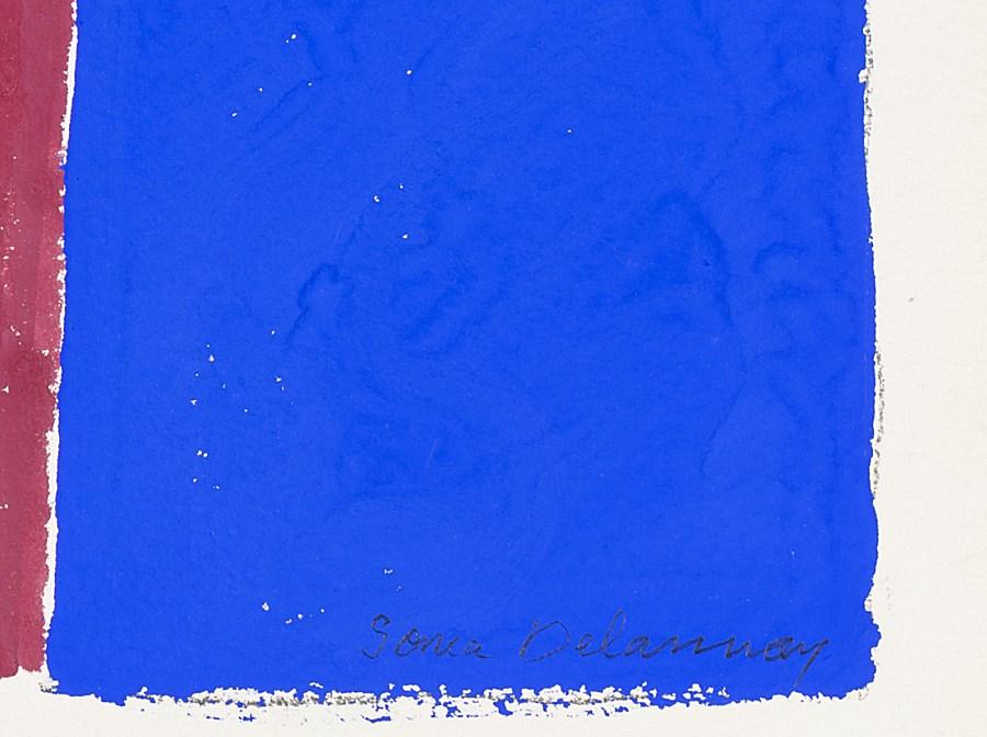 Rythme Couleur #1460 - Sonia Delaunay (Hradyzk, Ukraine 1885 - Paris, France 1979)