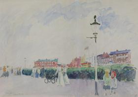 Ludovic-Rodo Pissarro - The Promenade, Margate