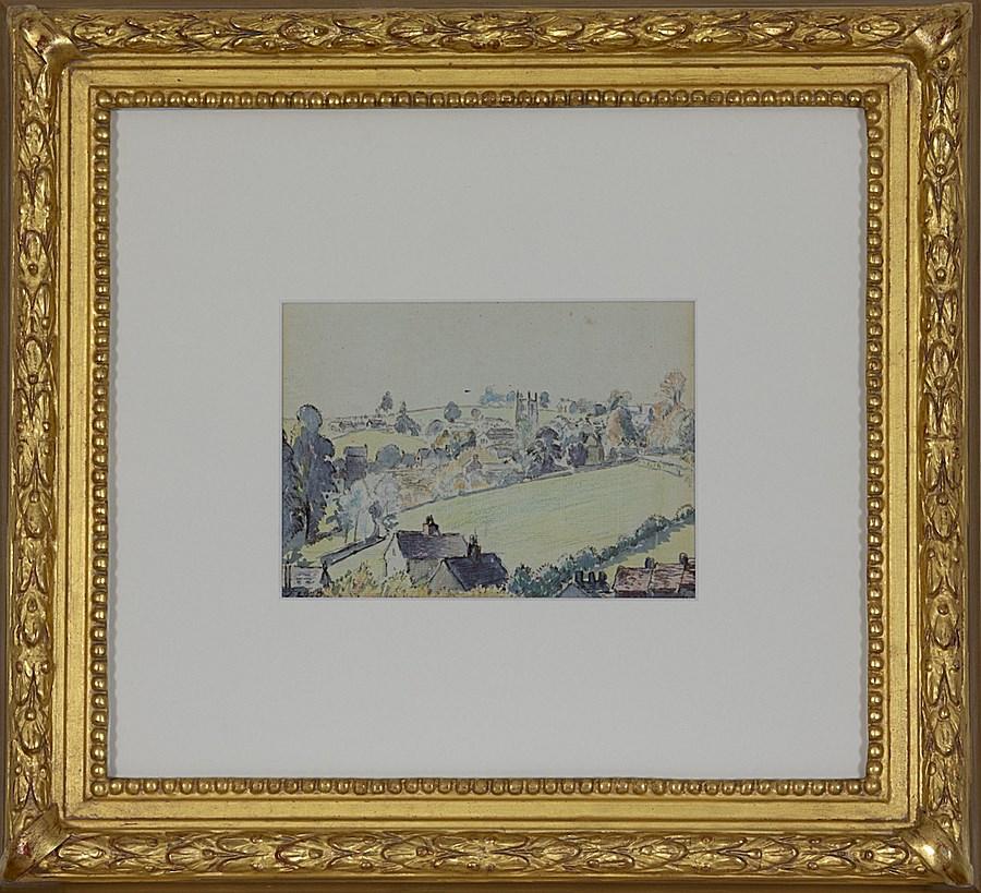 Wotton-under-Edge - Lucien Pissarro (1863 - 1944)