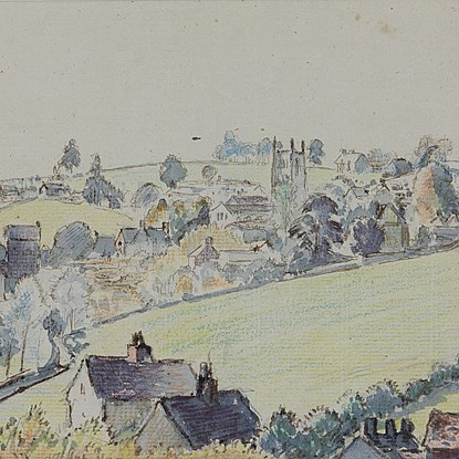 Wotton-under-Edge - Lucien Pissarro (1863 - 1944)
