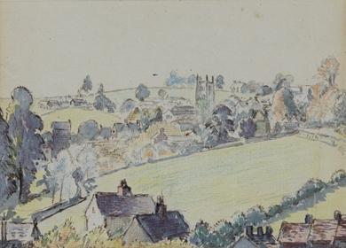 Lucien Pissarro - Wotton-under-Edge