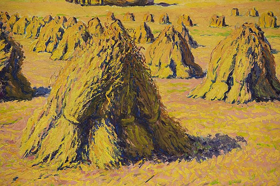 Moissons près du Village - Gustave Cariot (1872 - 1950)