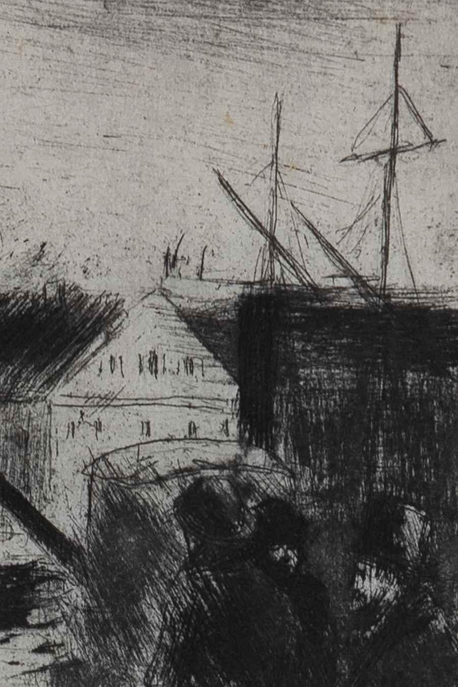 Cours Boïeldieu, à Rouen  - Camille Pissarro (1830 - 1903)
