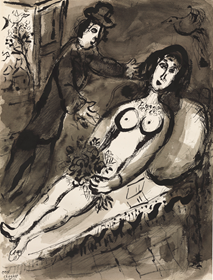 Marc Chagall - L'Offrande