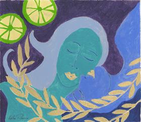 Lélia Pissarro, Contemporary - Mother and Daughter