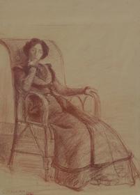 Hippolyte Petitjean - Madame Petitjean Assise, 19 mai 1901