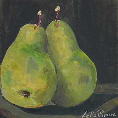 Poire David et Lélia - Lélia Pissarro, Figurative (b. 1963 - )