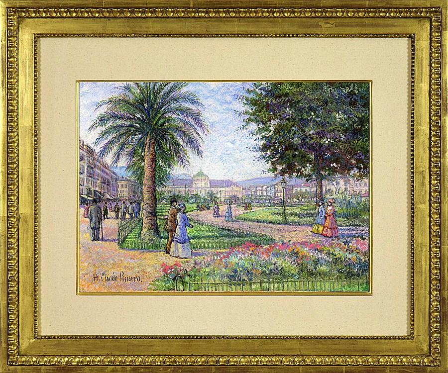 Nice - Massena - H. Claude Pissarro (b. 1935 - )