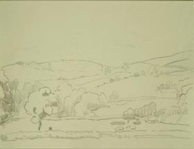Orovida Pissarro - Landscape in Devon