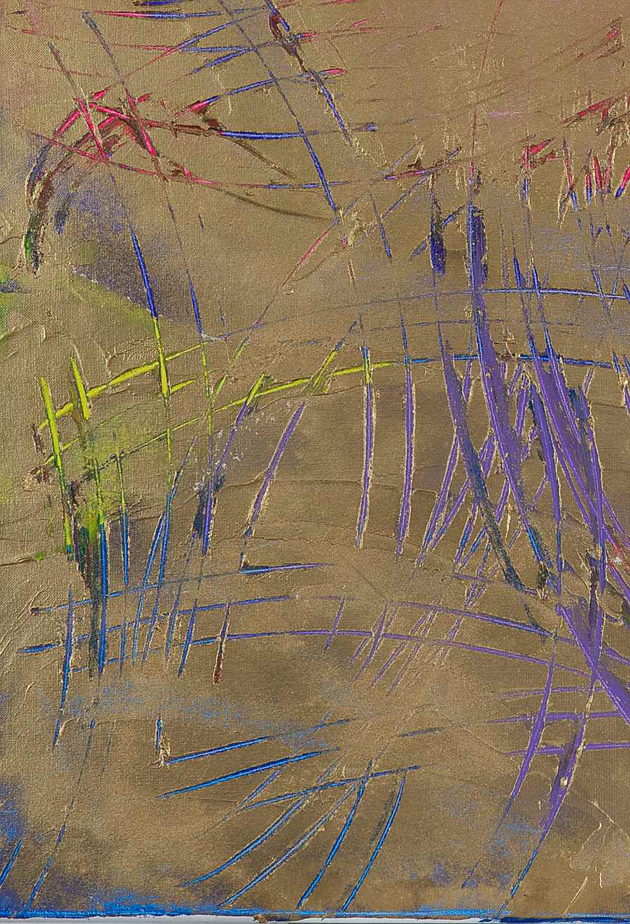 Gold Charlotte - Lélia Pissarro, Contemporary (b. 1963 - )