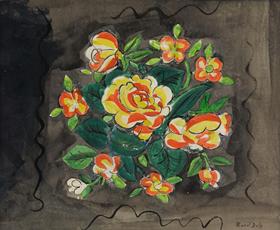 Raoul Dufy - Bouquet de Fleurs