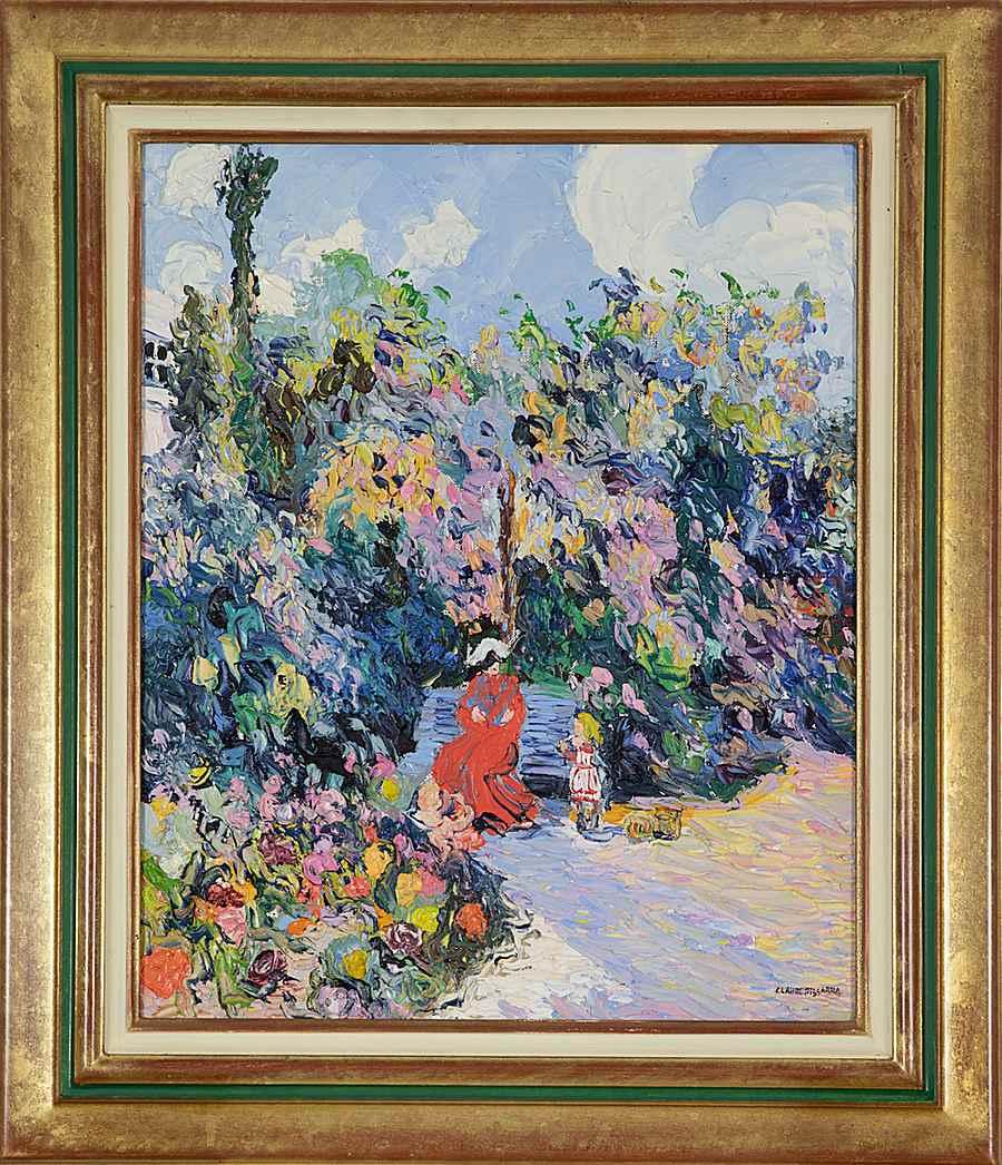 La Petite Rachel et sa Mère au Jardin - Corinne and Claude Pissarro