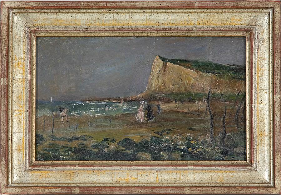 Sur la plage, Le Tréport - Norbert Goeneutte (1854 - 1894)