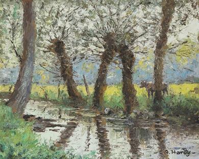 André Hardy - Bord de rivière
