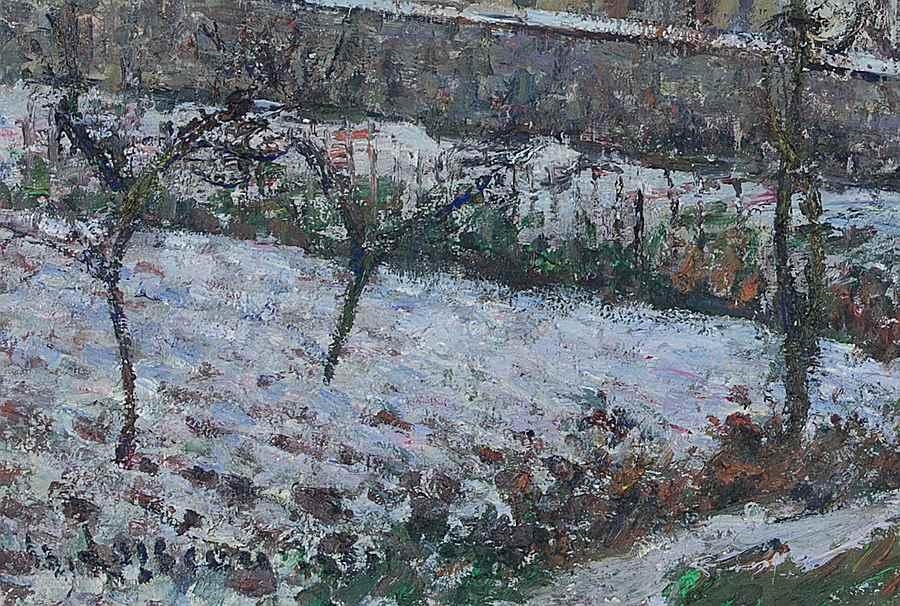 Paysage de neige - Gustave Loiseau (1865 - 1935)