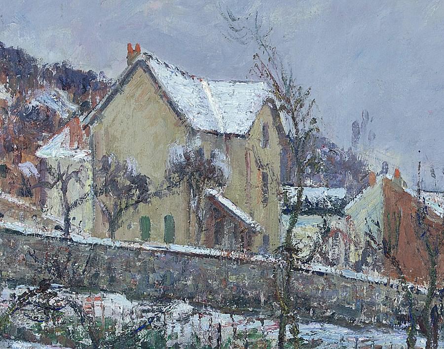 Le Neige en 1911 - Gustave Loiseau (1865 - 1935)