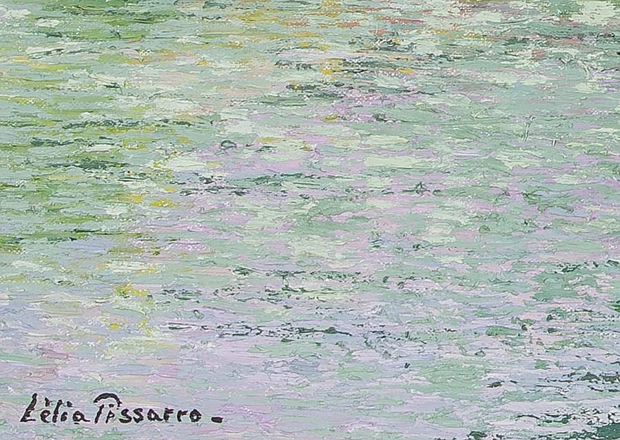 La Maison de Koula en Normandie - Lélia Pissarro, Figurative (b. 1963 - )