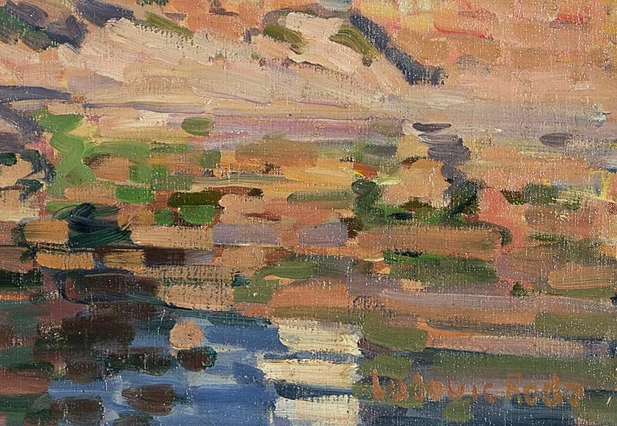 Ploumanac H, Bretagne - Ludovic-Rodo Pissarro (1878 - 1952)