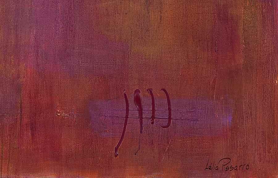 Transparency of Mental Content - Lélia Pissarro, Contemporary (b. 1963 - )