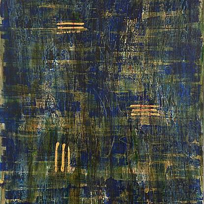 Rhino sauvage sous la pluie, ta force mataille - Lélia Pissarro, Contemporary (b. 1963 - )