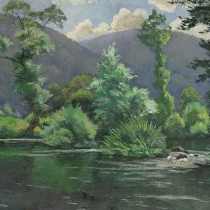 Le Coup de Vent - Paulémile Pissarro (1884 - 1972)