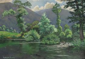 Paulémile Pissarro - Le Coup de Vent
